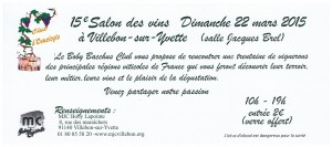 Invitation Villebon 2015